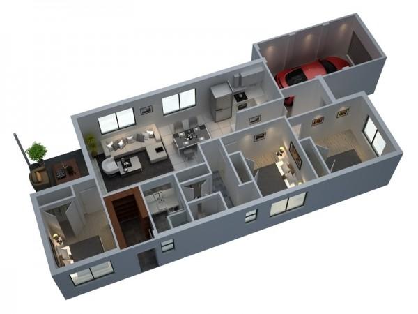 beautiful 3d floor plans