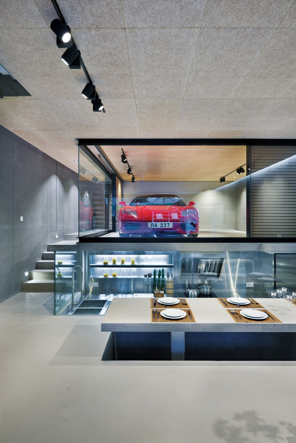Asian Dining Room