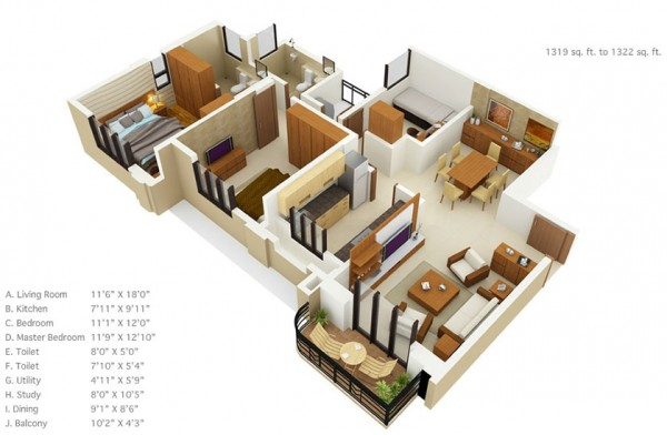 house plans under 1500 square feet