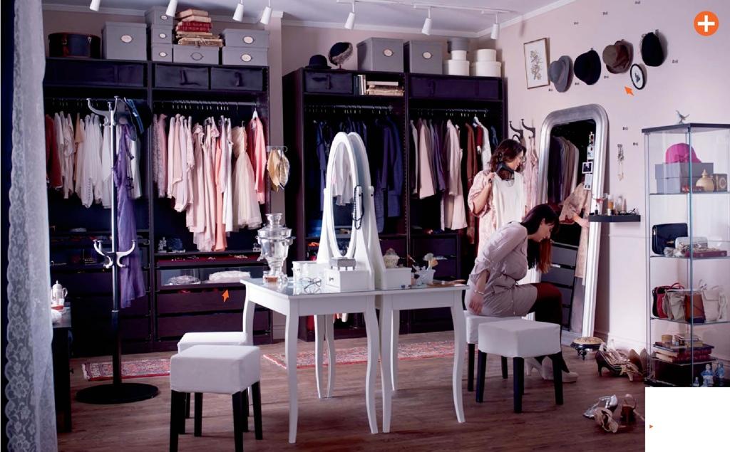Interior Decoration Wardrobe