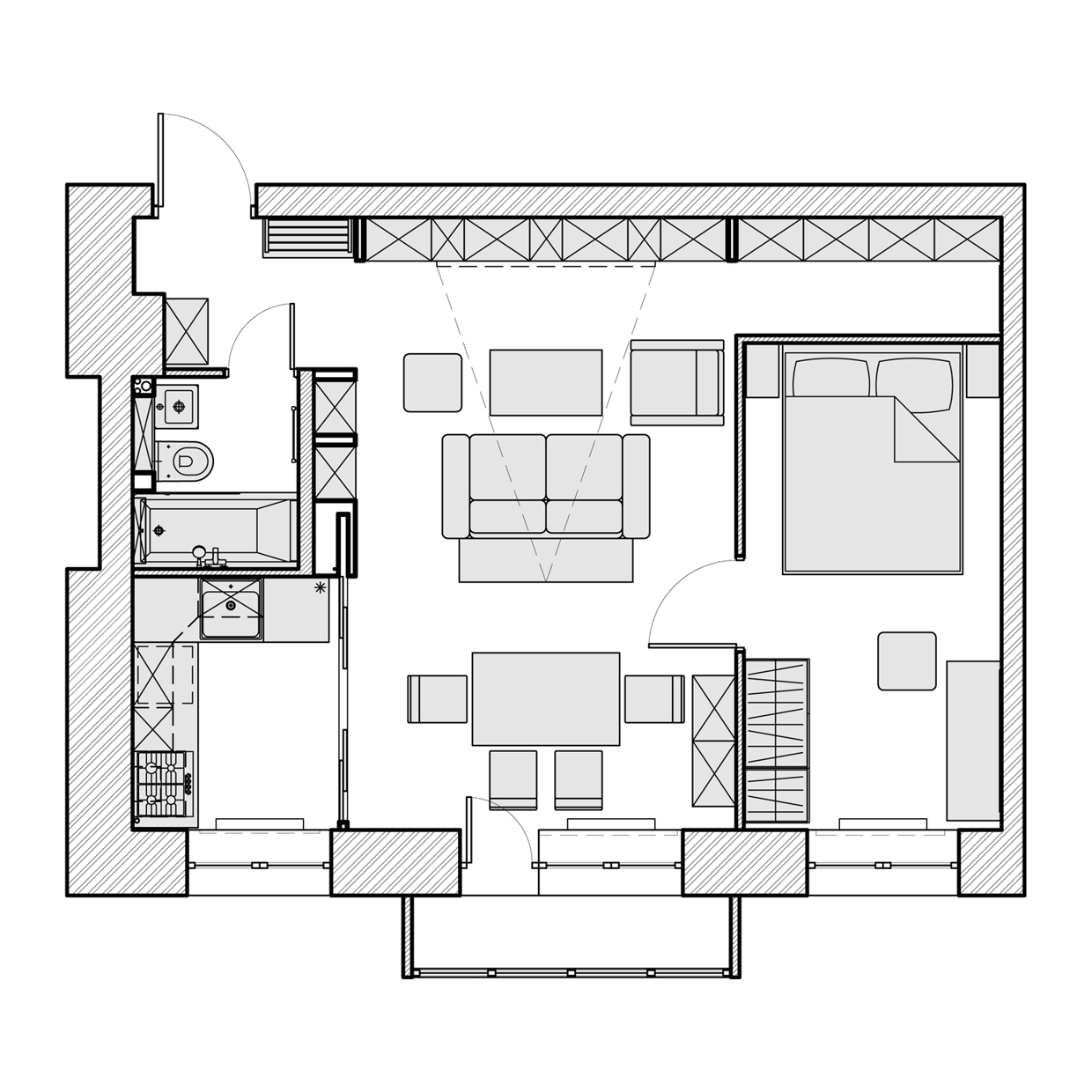 3 Beautiful Homes Under 500 Square Feet