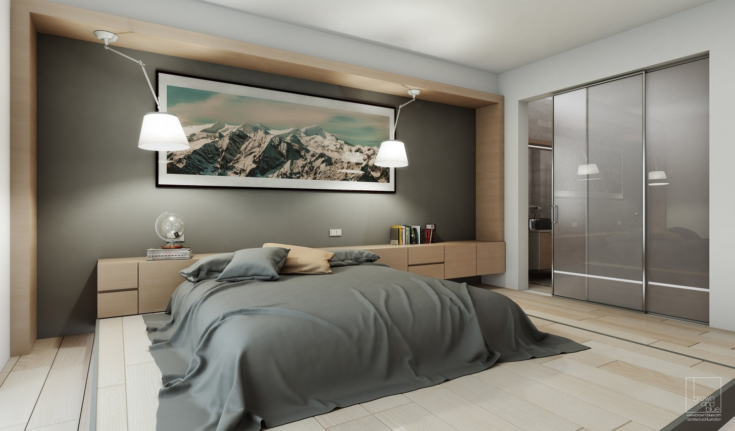 stylish bedroom designs with beautiful creative details