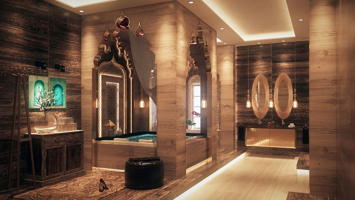 Luxurious Bathrooms With Stunning Design Details
