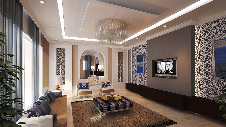 Living Room Moroccan Style Interior Design Ideas