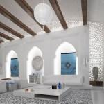 Spacious Moroccan Living Roominterior Design Ideas