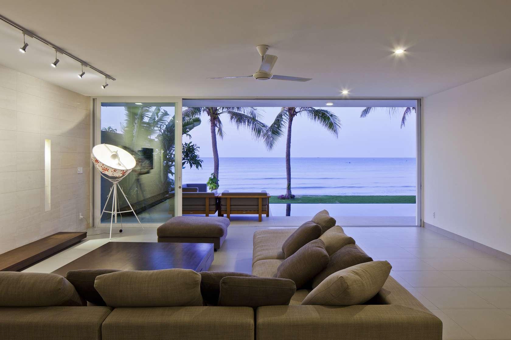 Private Beach Villas Offer Spectacular Ocean Views And