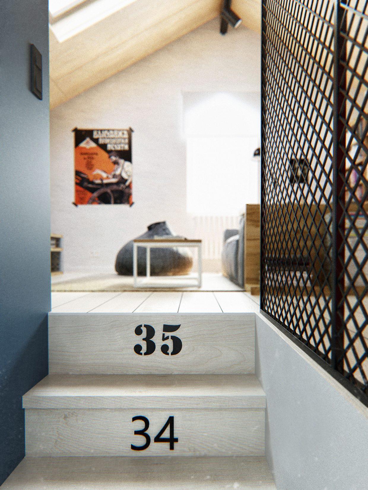 Duplex Penthouse With Scandinavian Aesthetics Amp Industrial Elements