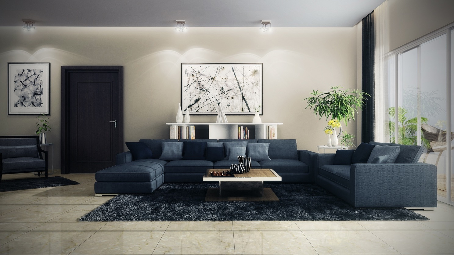21 Relaxing Living Rooms With Gorgeous Modern Sofas