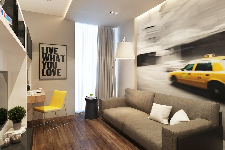 Artsy Living Room Interior Design Ideas