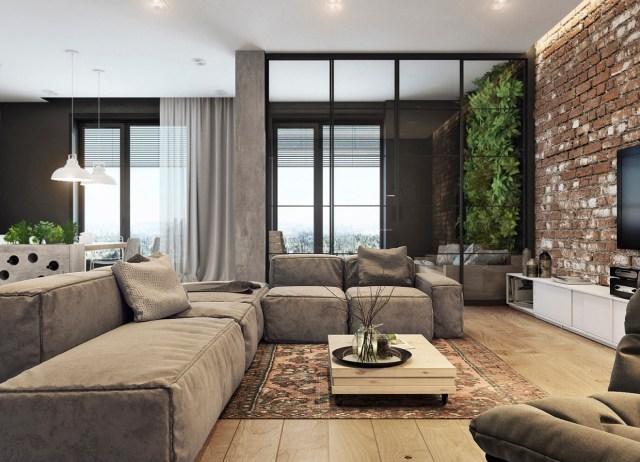 modern house design with bricks : brightchat.co