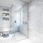 White Marble Bathroominterior Design Ideas