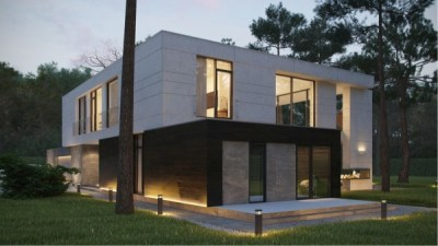 Modern Home Exteriors with Stunning Outdoor Spaces