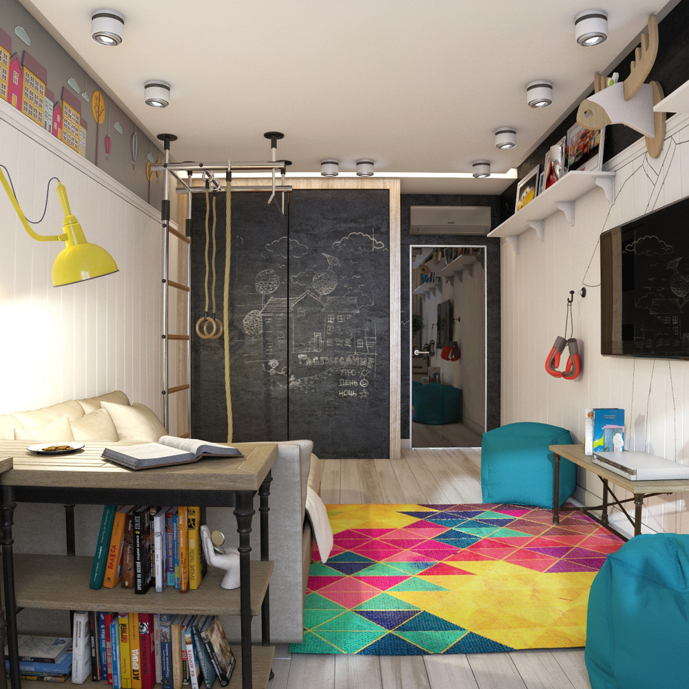 Funky Rooms That Creative Teens Would Love