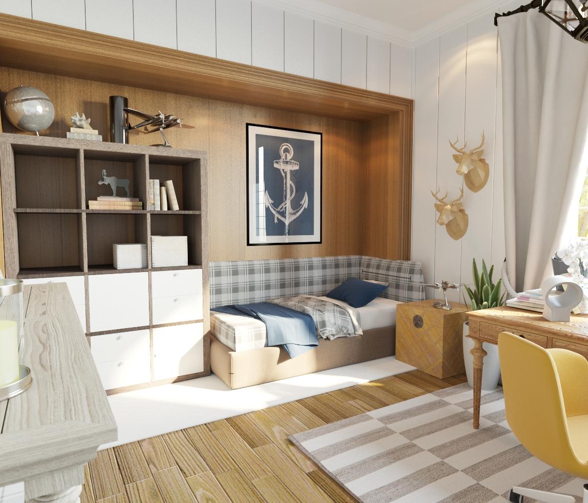 Simple Interior Design Kitchen
