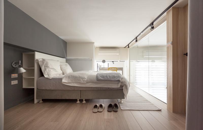 Modern Loft Bedroom Interior Interior Design Ideas