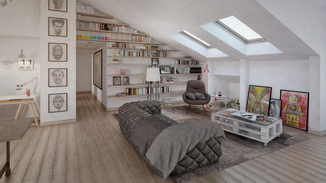 4 Stylish Homes With Slanted Ceilings Paint Ideas For Bedrooms Mark Cooper
