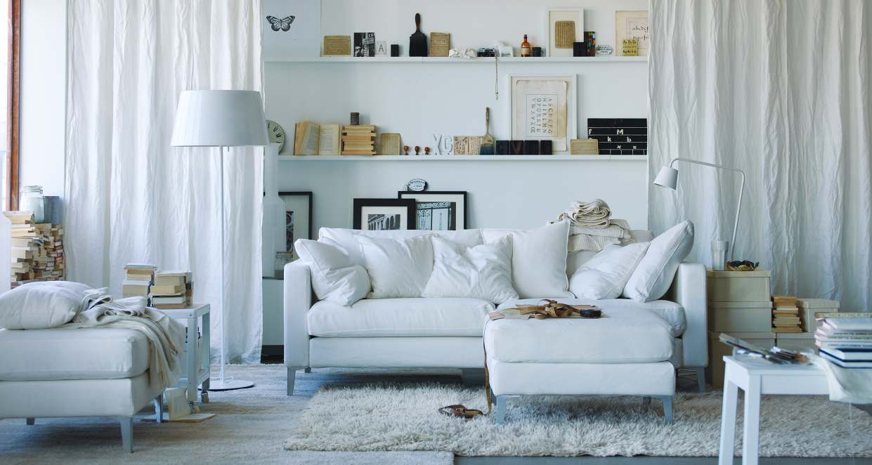 Scandinavian Living Room Design Ideas Inspiration. White Sofa ... Part 61