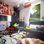Colorful Living Room Design Interior Design Ideas