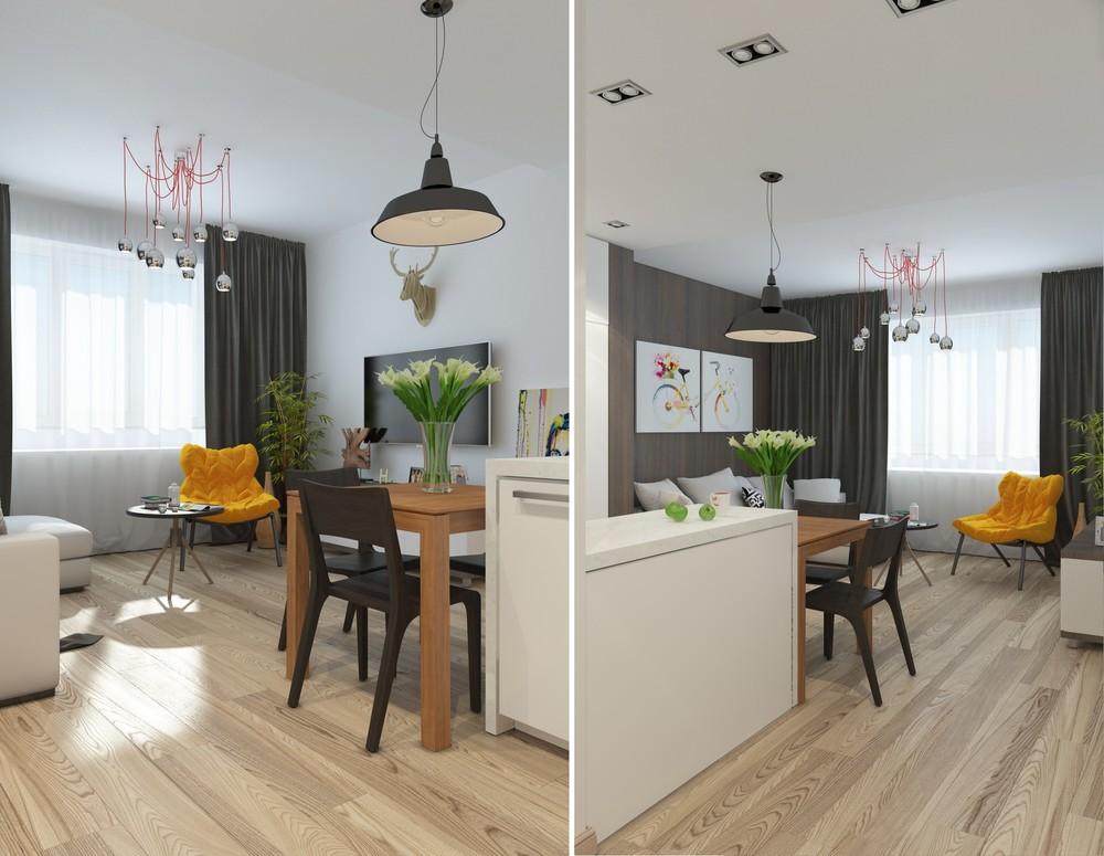 5 Apartment Designs Under 500 Square Feet