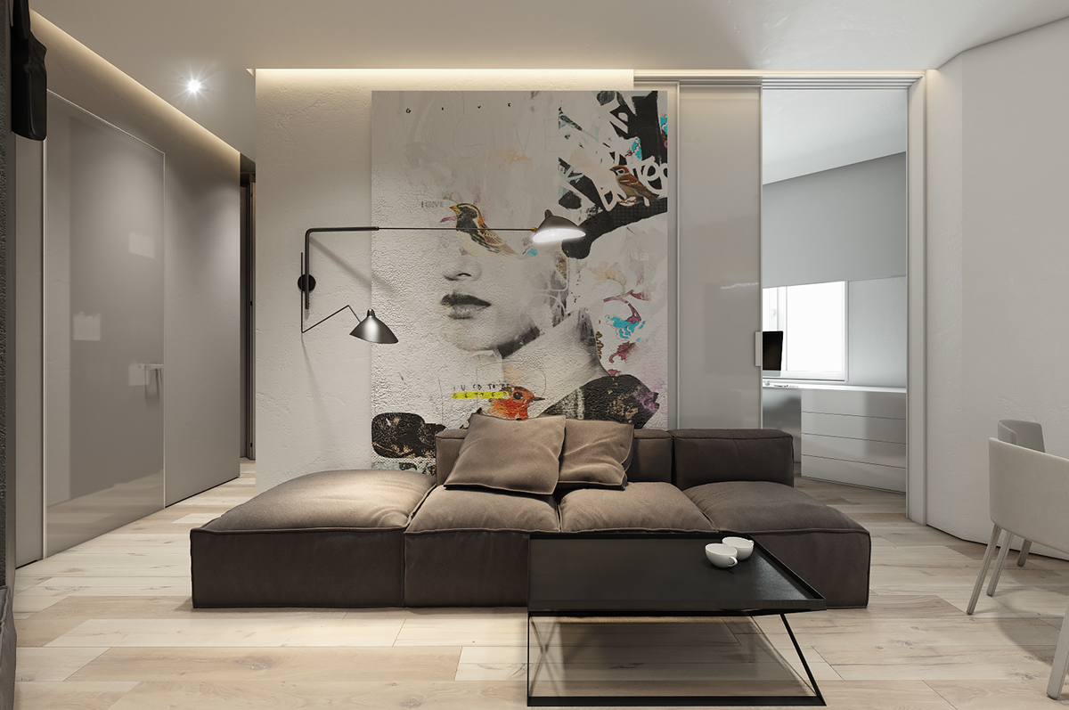 Artistic Living Room Interior Design Ideas