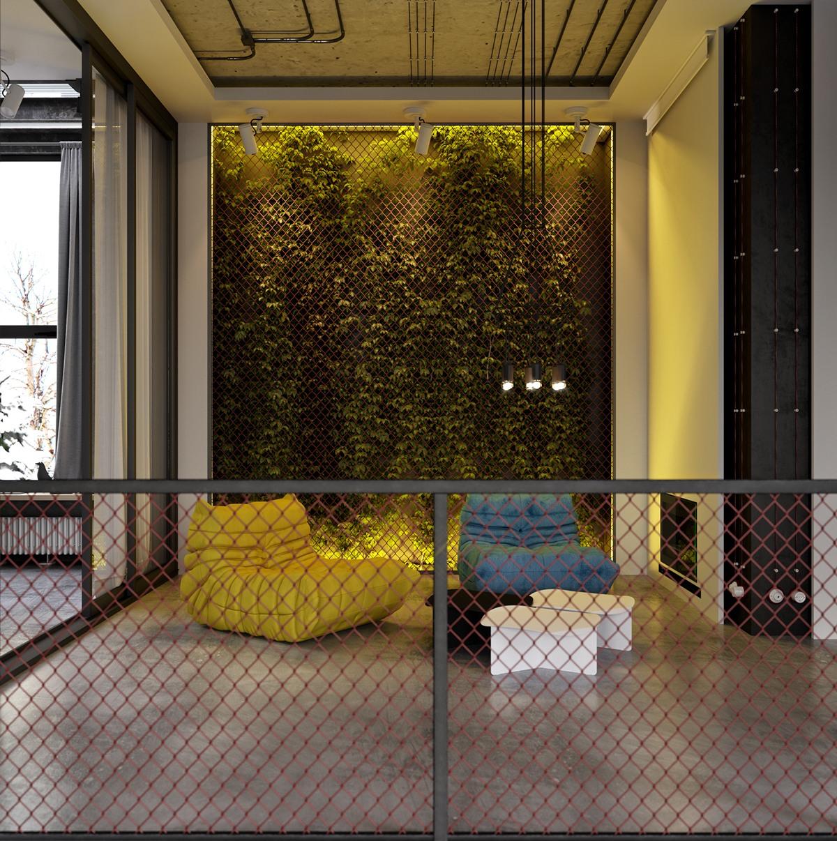 Chain Link Decor Ideas Interior Design Ideas