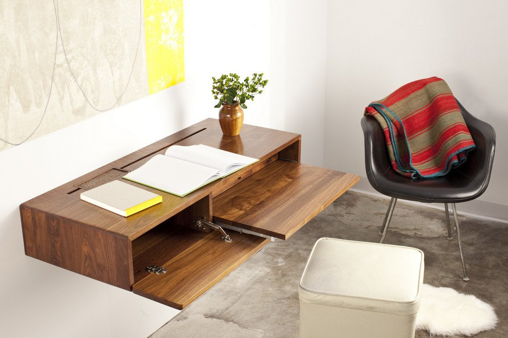 Desks For Small Spaces Interior Design Ideas