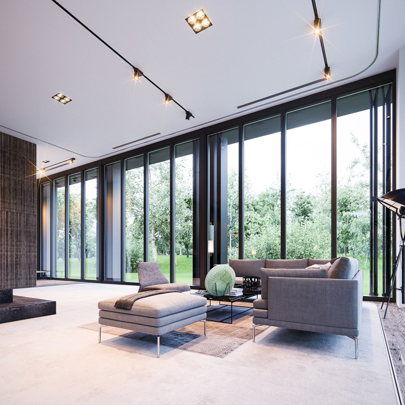 3 natural interior concepts with floor to ceiling windows floor to ceiling windows home decorating ideas flockee com