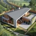 Modern Rustic House Plans Modern House