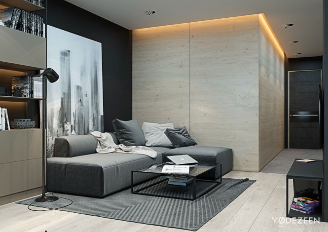 Studio Apartments With Beautiful Design