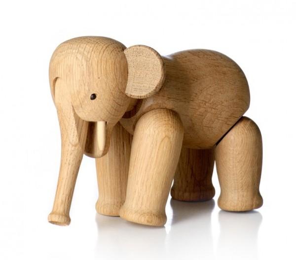 White Ceramic Elephant Side Table Tonic Home