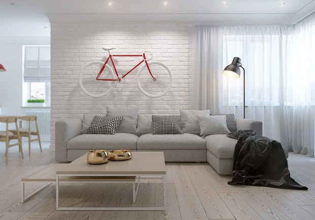 Decor Styles Scandinavian Natural Colors Minimalist Living Room