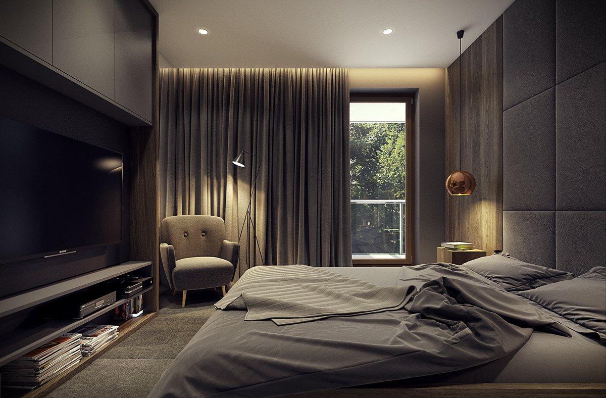 Dramatic Interior Architecture Meets Elegant Decor In
