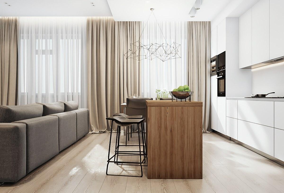 efficient kitchen and dining arrangement interior design ideas