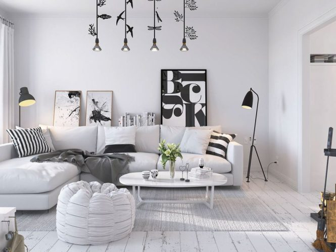 Decor In 3 Small One Bedroom Apartments