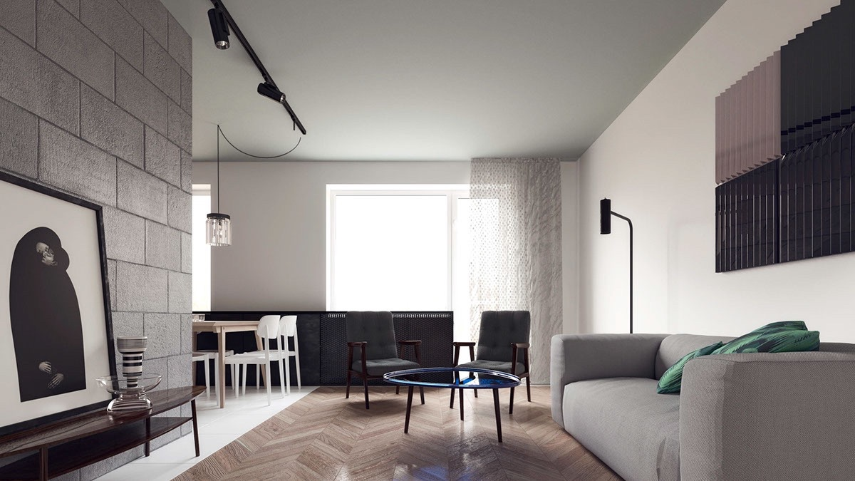 Simple Kitchen Layout Design