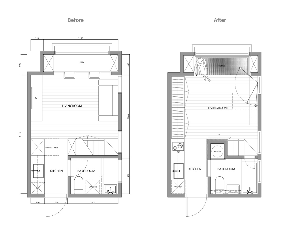 2 Super Tiny Home Designs Under 30 Square Meters (Includes