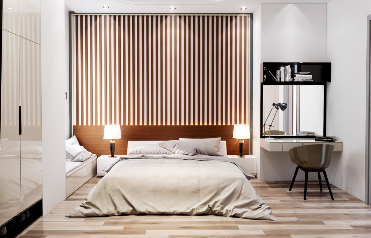 25 Beautiful Examples Of Bedroom Accent Walls That Use