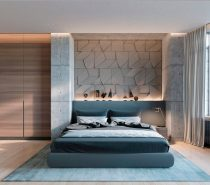 Concrete Wall Designs: 30 Striking Bedrooms That Use Concrete Finish  Artfully ...