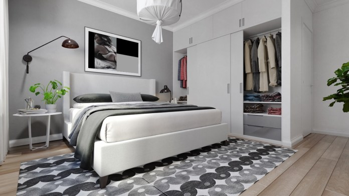 Image result for white and gray bedroom ideas