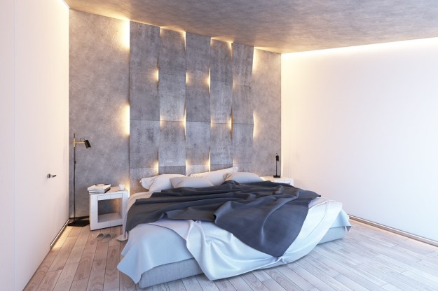 concrete wall designs: 30 striking bedrooms that use concrete finish