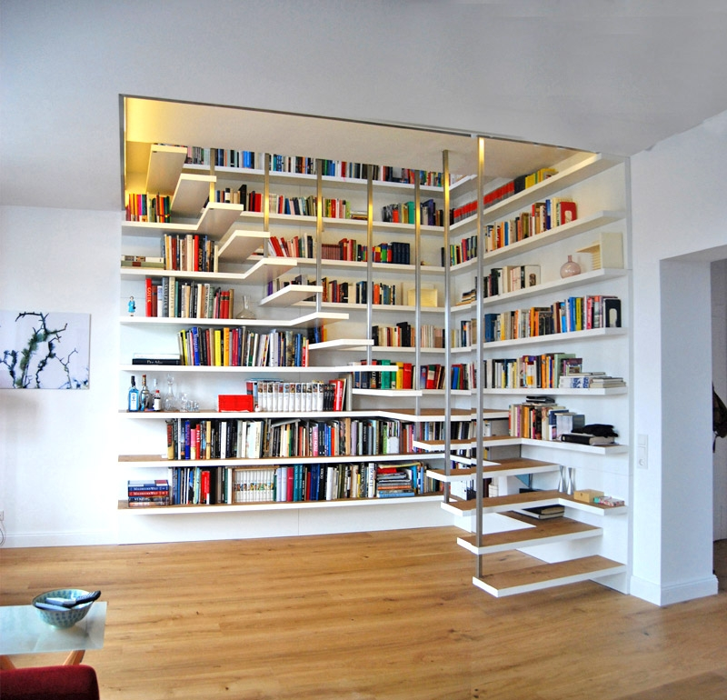 50 Creative Ways To Incorporate Book Storage In Around Stairs   Creative Stairs For Small Spaces   Low Cost Simple   Beautiful   Tiny House   Modern   Unique