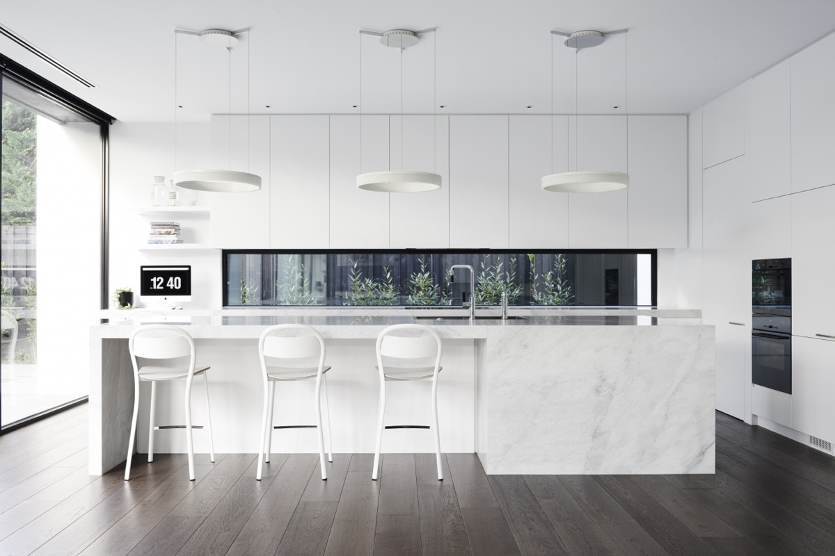 Best Kitchen Gallery: 30 Modern White Kitchens That Exemplify Refinement of White Modern Kitchen Design on rachelxblog.com