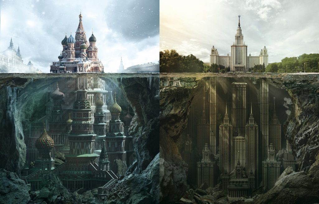 Fantastic Reimagination Of Iconic Russian Architectural
