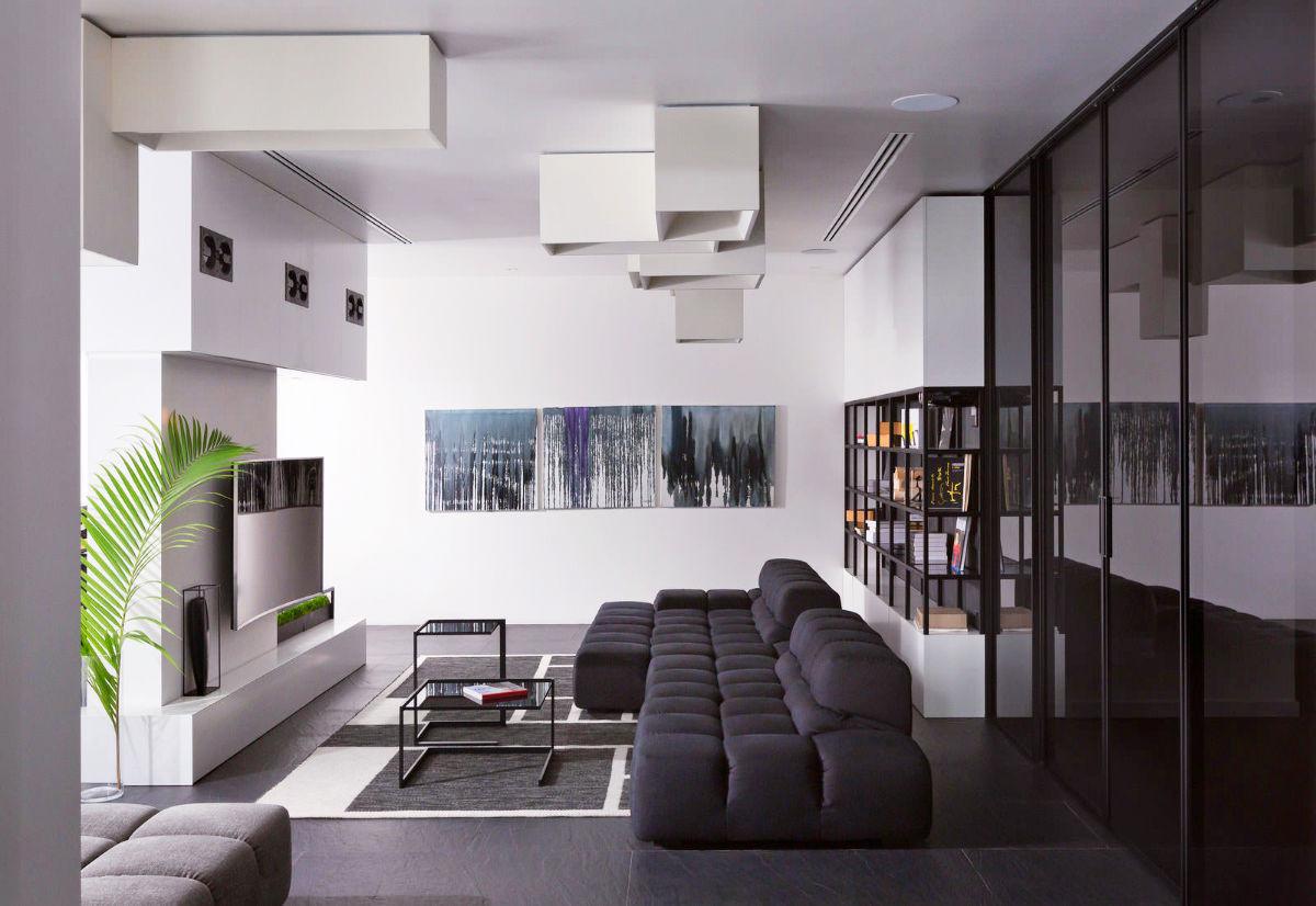 30 Black & White Living Rooms That Work Their Monochrome Magic ...