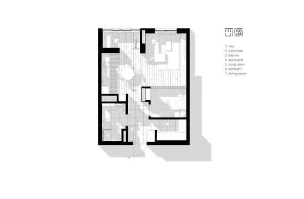 5 Studio Apartments that Use Space Splendidly – Free Autocad