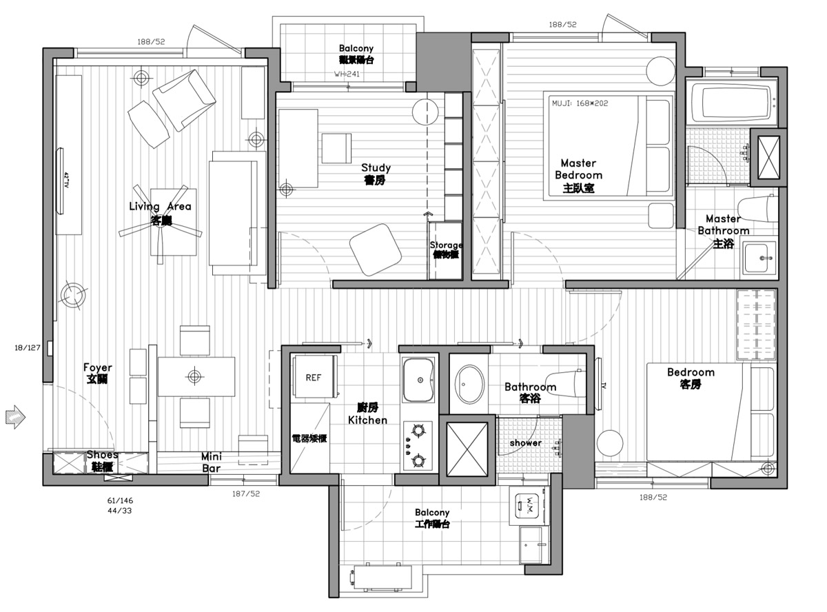 100 Square Meters House Plans