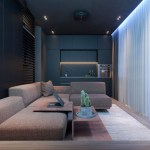 Dark Moody Bachelor Pad Design 2 Single Bedroom L Shaped Examples Includes Floor Plans
