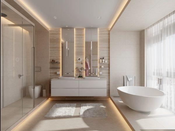 40 Double Sink Bathroom Vanities Free Autocad Blocks Drawings Download Center