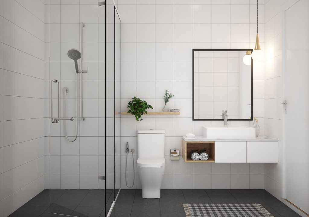 title | Minimalist Bathroom