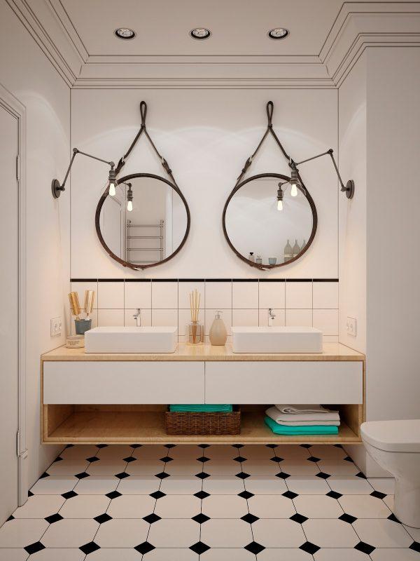 40 Double Sink Bathroom Vanities Free Autocad Blocks Drawings